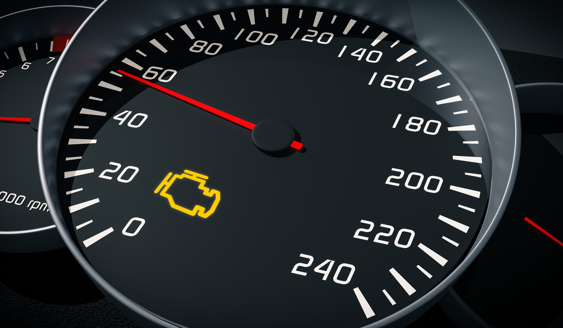 Engine Malfunction Warning Light Contro